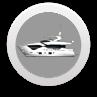 yacht icon round