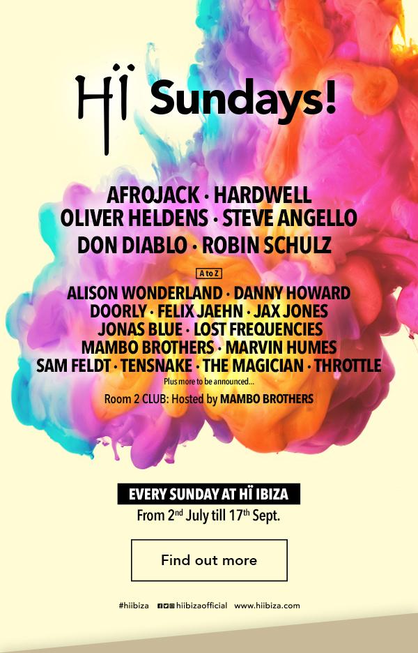 Hi Ibiza sundays