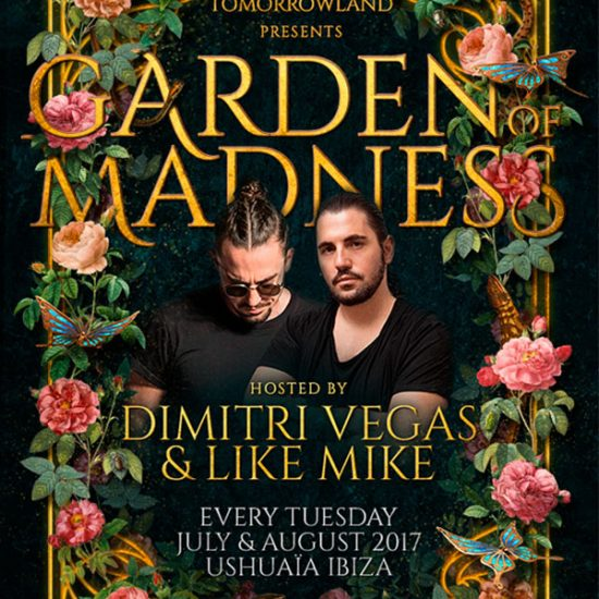 TOMORROWLAND PRESENTS DIMITRI VEGAS & LIKE MIKE GARDEN OF MADNESS