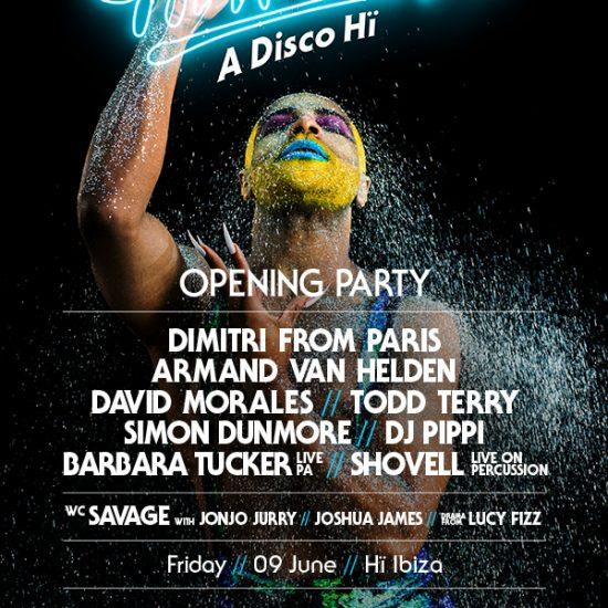Hi ibiza new Club in Ibiza 2017