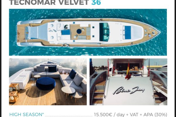 Your own yacht in Ibiza
